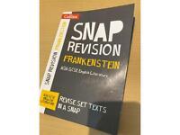 Frankenstein revision book