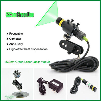 5-12v 532nm 100mw Industrial Green Laser Line Module For Stonewood Cut Locating