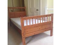 IKEA Hemnes wooden bunk bed/ single beds