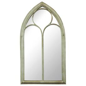 Pair of Large Arched Mirrors
