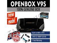 OPENBOX V9S SKY SATELLITE BOX 12 MNTHS GIFT