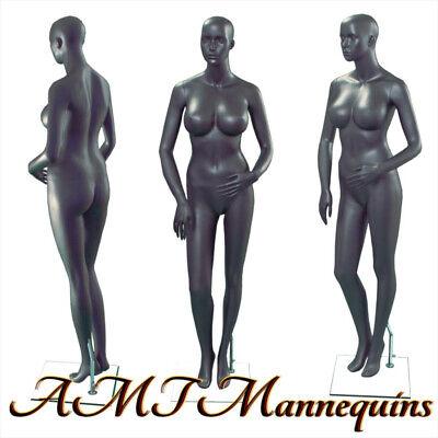 One Female Mannequinbase Full Body Sexy Hand Made Gray Manikin S25-1