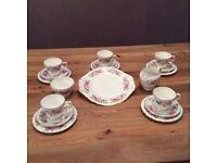 Crown Trent Fine Bone China (Staffordshire) Tea set.