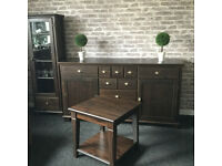 Large chest of drawers + cabinet and table