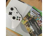 X Box One S Minecraft Edition Boxed New (has been set up only)