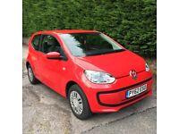 VW Up! 2012, RARE LOW MILES 14,300, VW warranty left, reluctant sale, fantastic car!
