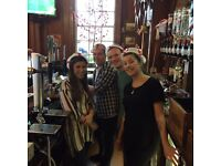 Henry Holland pub central London require bar staff