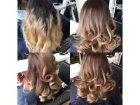 Mobile hairdresser trained in well known salon group