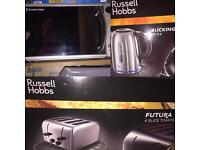 Russel hobbs-Kitchen bundle-brand new toaster,microwave and kettle used few times