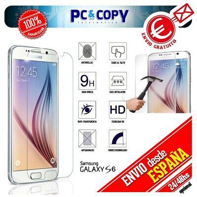S465 Cristal templado protector pantalla Samsung Galaxy S6 calidad Premium SM- G