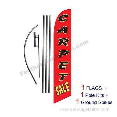 Carpet Sale 15 Feather Banner Swooper Flag Kit With Polespike