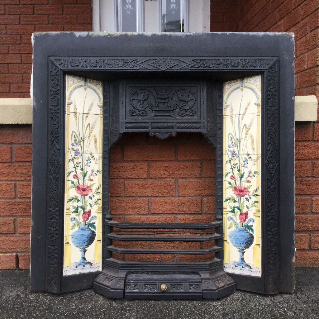 stovax cast iron fireplace fire grate vintage fire place