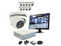 Hikvision 8 x 1080p HD Dome 2.0MP CCTV Kit Complete Outdoor Kit
