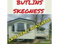 BUTLINS SKEGNESS CARAVANS FOR HIRE
