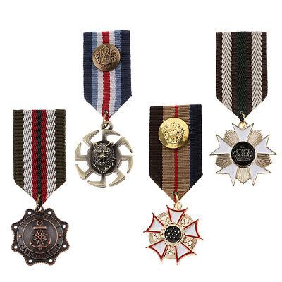 Medal Pin Pendant