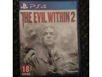 PICKUP ONLY. The evil within 2 Ps4