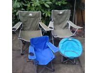 Family Set of Camping Chairs