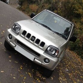 HI SPEC SUZUKI JIMNY 02 JLX 4WD/LOW MILES/BRAND NEW CAMBELT/LONG MOT/ IDEAL SIZE 4WD/LIKE VITARA