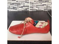 Incredibly soft red leather shoes Pikolino size 5 UK/38 EU