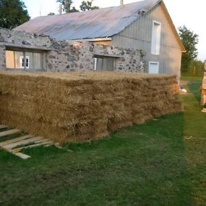 Straw for Sale - $3.75  ( small bales)