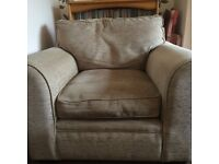 Three Seater Sofa and Chair Wallingford