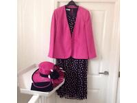 Complete Wedding Outfit, Jacques Vert, size 22