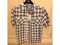 Superdry men's large short sleeved shirt