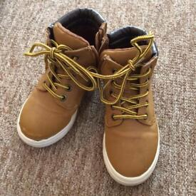 3 pairs of boys size 10 boots