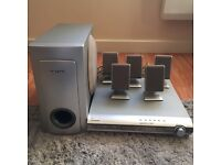 Samsung Home Cinema System - 5 speakers plus subwoofer Dolby surround sound