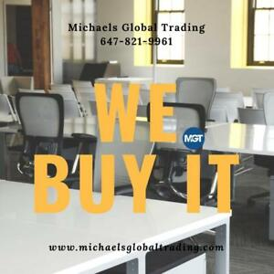 We Buy All Office Furniture & Equipment - Michaels Global Trading