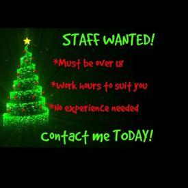 Xmas staff