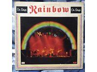 Rainbow - On Stage Vinyl Record