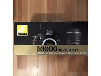 Selling Nikon D3000 DSLR Camera