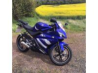 Yamaha YZF R125-2012-Blue
