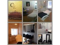 Beauty rooms and hair station for rent