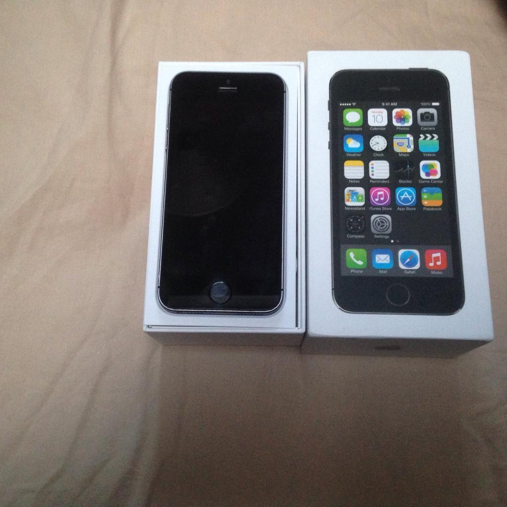APPLE IPHONE 5S 16GB GOOD CONDITION FULLY BOXEDin Bolton, ManchesterGumtree - Apple iPhone 5s 16gb in space grey. On vodafone,talktalk, lebara. Good condition. Comes with box and charger. Fully working