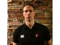 Sports and deep tissue massage therapist