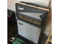 Supro Black Magick 1695TH head & cabinet valve/tube guitar amp
