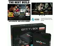 ANDROID TV BOX. NEW BUILD. BEST WARRANTY