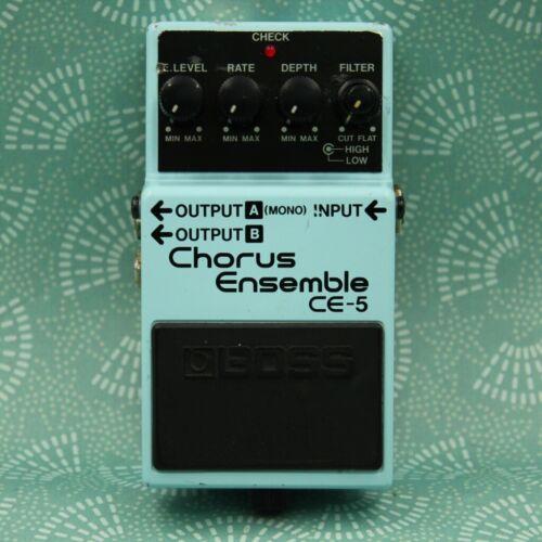 BOSS CE-5 Chorus Ensemble Guitar Effect Pedal