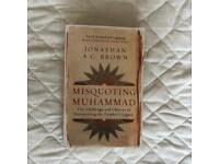 Misquoting Muhammad paperback Jonathan a c brown