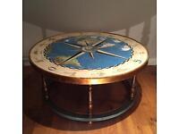 Rare antique zodiac table