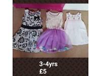 3-4yrs dresses