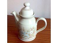 """Royal Doulton """"Florinda"""" Coffee pot"""