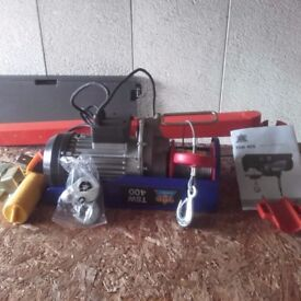 230v 200kg to 400kg electrical hoist
