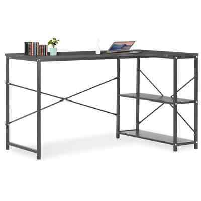 Vidaxl Computer Desk Black 47.2x28.3x27.6 Home Office Workstation Table