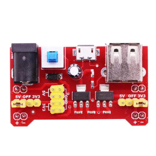 Breadboard Power Supply Module for Arduino USB Bread Board V