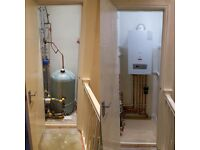 Boiler/Bathroom installations. Plumbing repairs & maintenance. Gas safe. Gas fitter .Powerflush