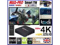 Android MXQ Pro TV Box New Marshmallow KD17.4 Media centre
