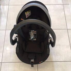 BeSafe iZi Go Modular i-Size Group 0+ Baby Car Seat, Black